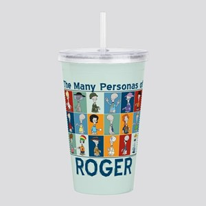 American Dad Roger Per Acrylic Double-wall Tumbler