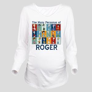 American Dad Roger P Long Sleeve Maternity T-Shirt