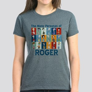 American Dad Roger Personas Women's Dark T-Shirt
