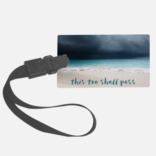 Unique Quotes Luggage Tag