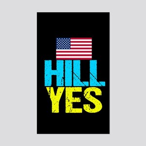 Hill Yes Sticker (Rectangle)