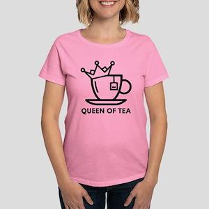 Queen Of Tea Women's Dark T-Shirt