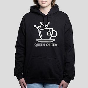 Queen Of Tea Hooded Sweatshirt