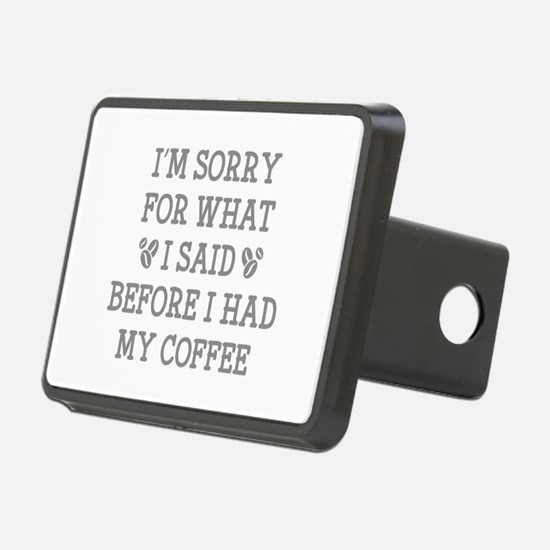 Before I Had My Coffee Hitch Cover