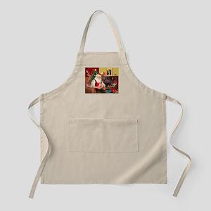 Santa's Chih (r) BBQ Apron
