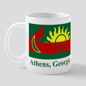 Athens GA Flag Mug