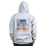 Vote Zip Hoodie