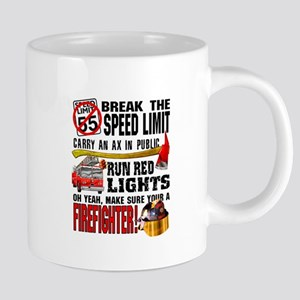 Make sure a Firefighter Mugs