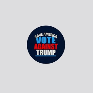 Vote Against Trump Mini Button