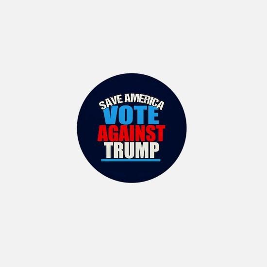 Vote Against Trump Mini Button
