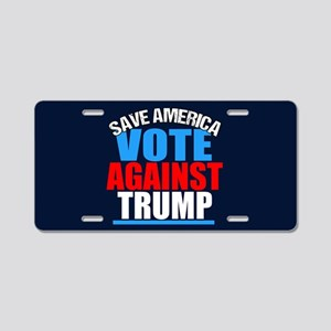 Vote Against Trump Aluminum License Plate