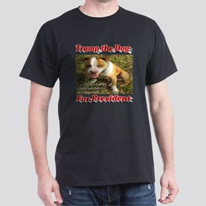 Trump the Dog for President Dark T-Shirt