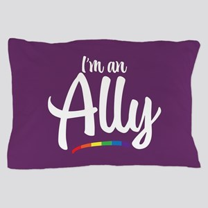 I'm an Ally - Gay Pride Full Bleed Pillow Case