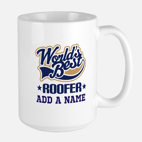 Roofer Gift Idea Personalized Mugs