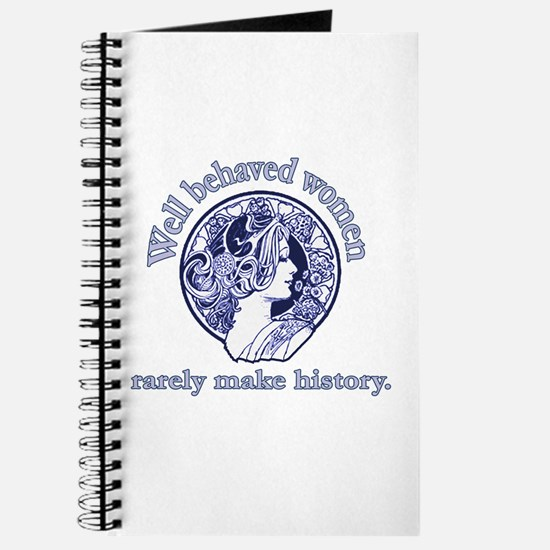 Artistic Well Behaved Women Journal
