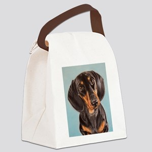 adorable dachshund Canvas Lunch Bag