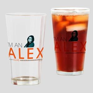Modern Family I'm an Alex Light Drinking Glass
