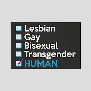 I'm Human - Gay Pride Full Bleed Magnets