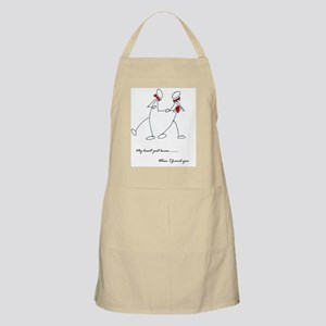 Gay couple with in love Apron