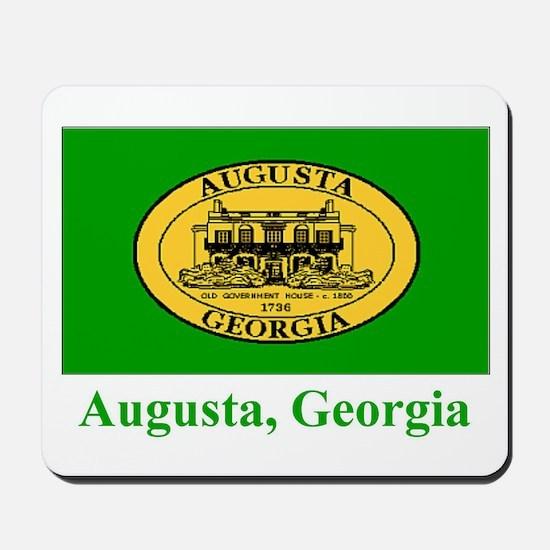 Augusta GA Flag Mousepad