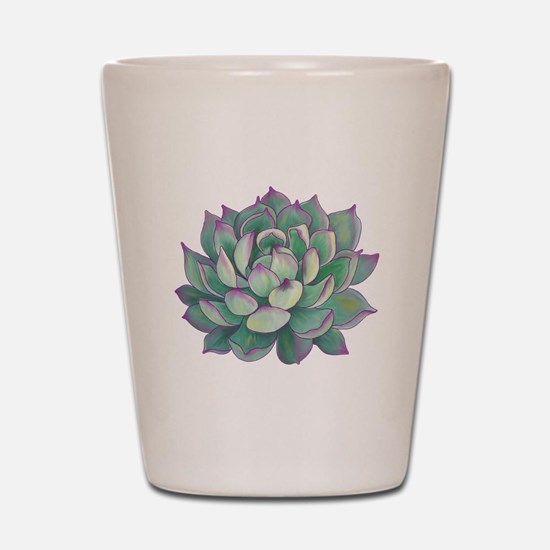 Succulent plant Shot Glass