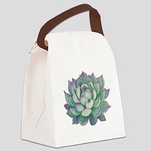 Succulent plant Canvas Lunch Bag