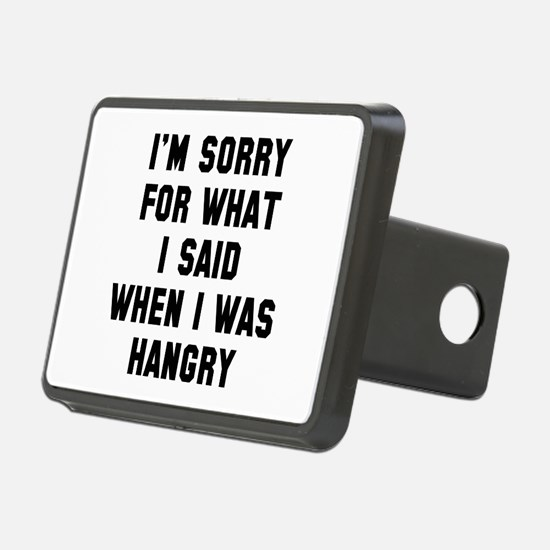 I'm Sorry For What I Said Hitch Cover