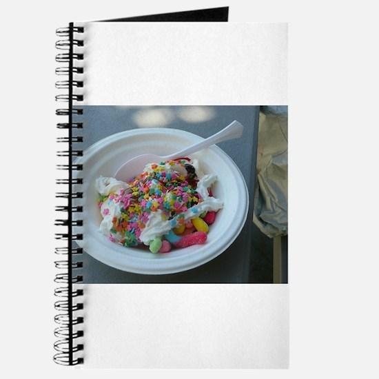 Unique Candy bowl Journal