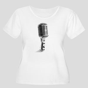 vintage_mic Plus Size T-Shirt