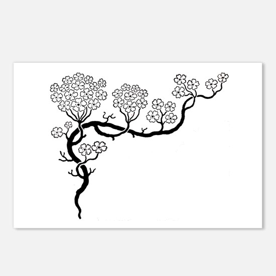 """""""Dogwood"""" Postcards (Package of 8)"""