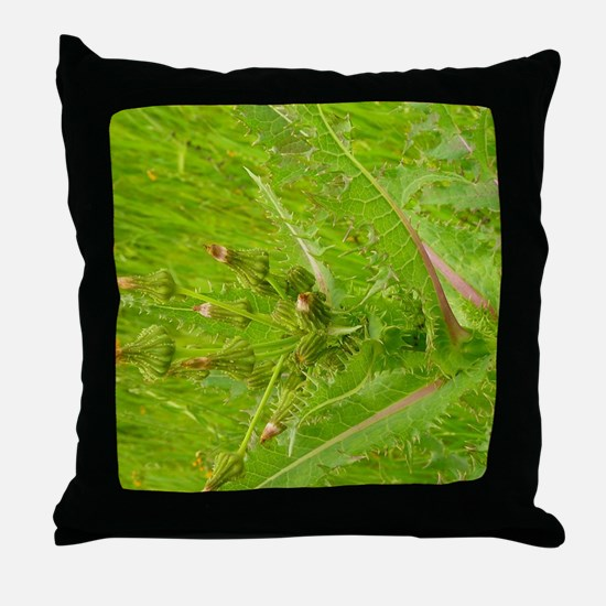 Unique Chartreuse Throw Pillow