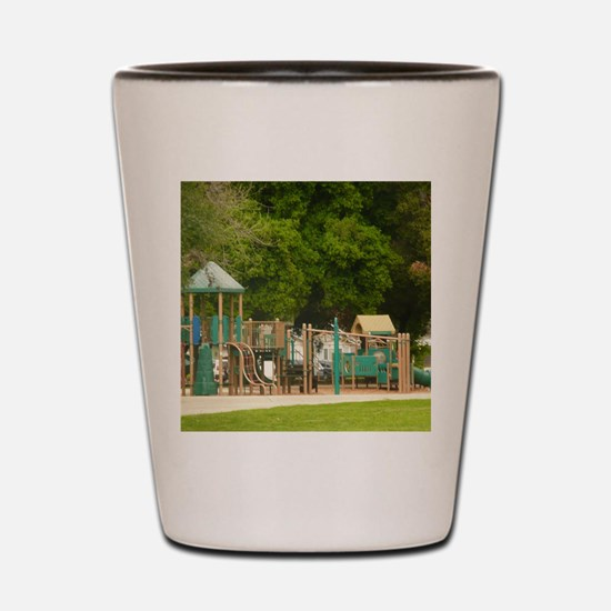 Unique Playground Shot Glass