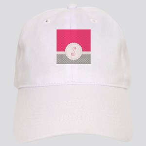 Cute Monogram Letter S Baseball Cap