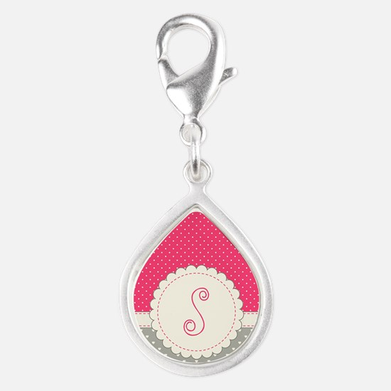 Cute Monogram Letter S Charms
