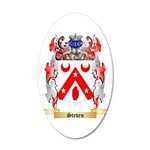 Steven 20x12 Oval Wall Decal