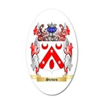 Steven 35x21 Oval Wall Decal