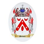 Steven Oval Ornament