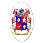 Stevanovic Sticker (Oval 50 pk)