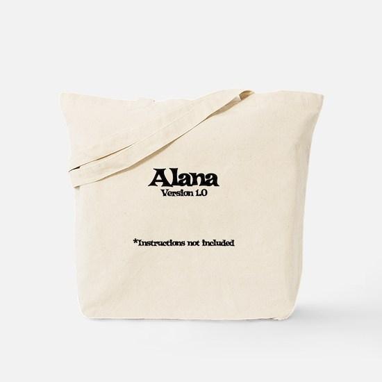 Alana Version 1.0 Tote Bag