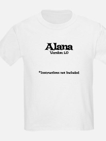 Alana Version 1.0 T-Shirt