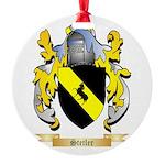 Stetler Round Ornament