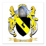 Stetler Square Car Magnet 3