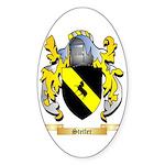 Stetler Sticker (Oval 50 pk)