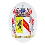 Sternbach Oval Ornament