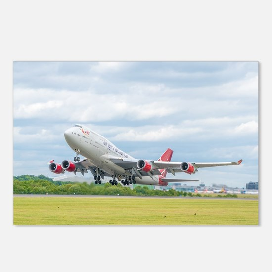 Unique Boeing Postcards (Package of 8)