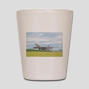 Virgin Atlantic B747 Shot Glass
