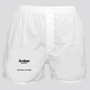 Amber Version 1.0 Boxer Shorts