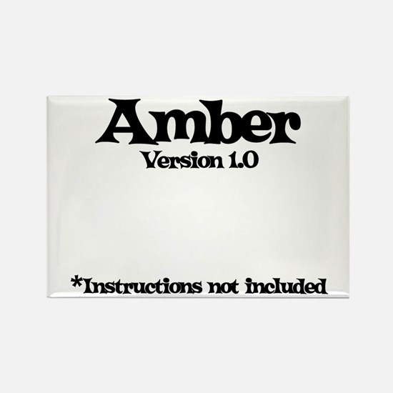 Amber Version 1.0 Rectangle Magnet