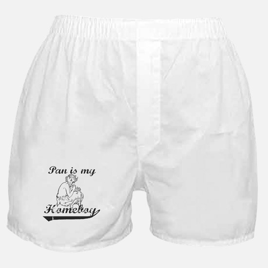 Pan is my Homeboy Boxer Shorts