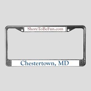 Chestertown License Plate Frame
